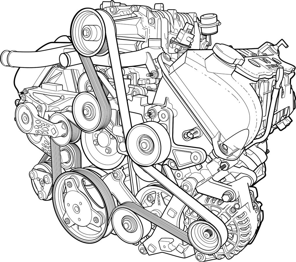 chevy v8 engine clip art  chevy  free engine image for