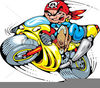 Free Motorbike Clipart Image