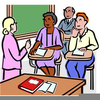 Free School Conference Clipart Image