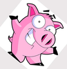Free Clipart Of Cartoon Pigs Image