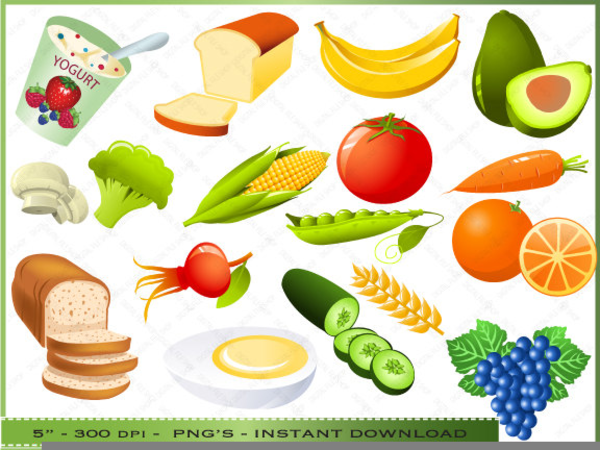 Healthy Food Clipart Images | Free Images at Clker.com ...