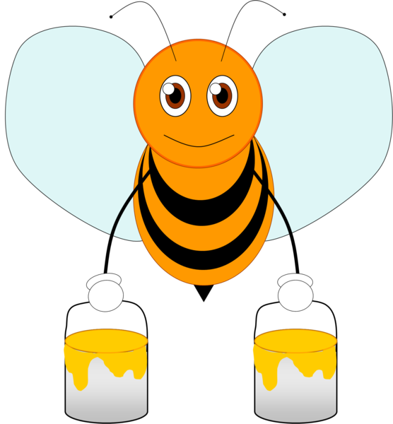 Cartoon Beehive Clipart Cartoon Bee Clipart