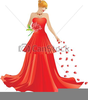 Fancy Dress Clipart Image