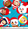 Free Clipart Of Carol Singers Image