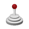 Medical Joystick Icon Image