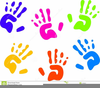 Clipart Free Hand Print Image