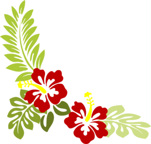 Widened Hibiscus Clip Art