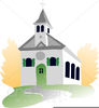Free Wedding Chapel Clipart Image