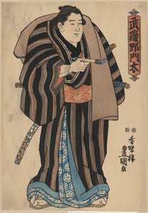 The Sumo Wrestler Musashino Monta. Image