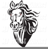 Head Clipart Black And White Image
