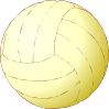 Volley-ball Clip Art