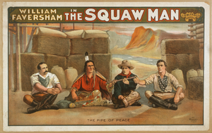 William Faversham In The Squaw Man Image