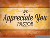 A Note From The Pastor Clipart Image