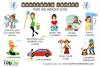 Free Household Chores Clipart Image