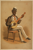 Swell Negro Banjo Player Image