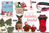 Free Holiday Pet Clipart Image
