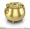 Pots Of Gold Clipart Image