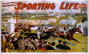 Cecil Raleigh & Seymour Hicks  Great English Play, Sporting Life Image
