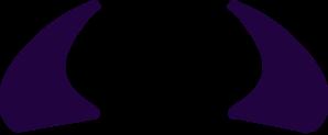 purple devil horns clip art at clker com vector clip art online rh clker com red devil horns clip art white devil horns clipart
