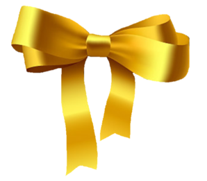 gold bow clip art at clker com vector clip art online royalty