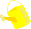 Empty Watering Can Clip Art