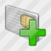 Icon Chip Card Add Image