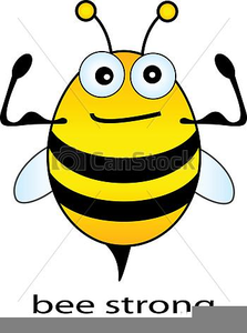Bee Line Clipart Image