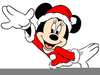 Mickey Mouse Christmas Clipart Image