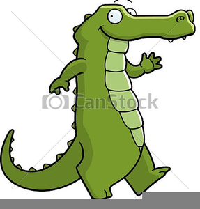 Alligator Drawing Clipart Image