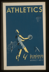 Athletics--w.p.a. Recreation Project, Dist. No. 2  / Hazlett. Image