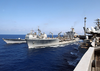 Msc Usns Leroy Grumman Conducts Underway Replenishment Image