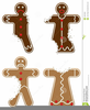 Clipart Of Gingerbread Men Image