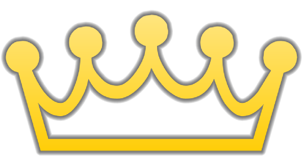 free vector clipart crown - photo #17