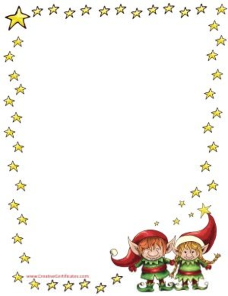 Free Christmas Clipart Borders Frames | Free Images at ...