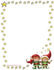 Free Christmas Clipart Borders Frames Image