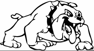 smiling bulldog clipart free images at clker com vector clip art rh clker com Bulldog Football Clip Art Free Cute Bulldog Clip Art Free