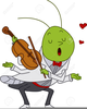 Cricket Insect Clipart Image