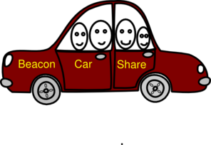 Beacon Car Share Clip Art