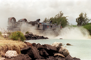 Lcac Hits The Beach Image