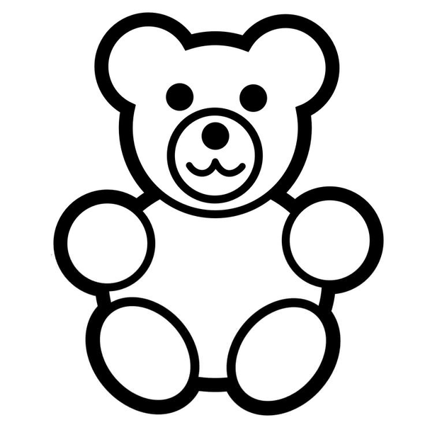 Baby Rattle Clipart Black White | Free Images at Clker.com ...