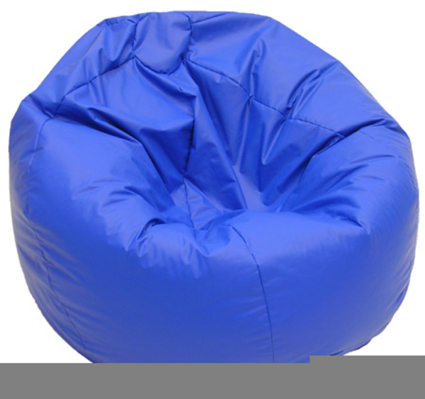 Bean Bag Chair Clipart Free Images At Clker Com Vector