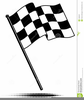 Checkered Racing Flag Clipart Image