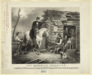 The Arkansas Traveller Image