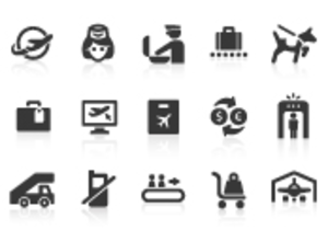 0109 Airport Icons 3 Xs Image