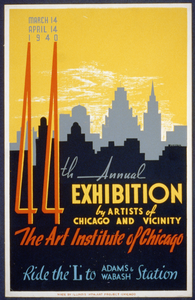 44th Annual Exhibition By Artists Of Chicago And Vicinity--the Art Institute Of Chicago  / Buczak. Image