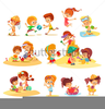 Clipart Camping Kids Image