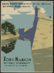 Fort Marion National Monument, St. Augustine, Florida Clip Art