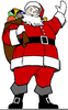 Clipart Pictures Of Father Christmas Image