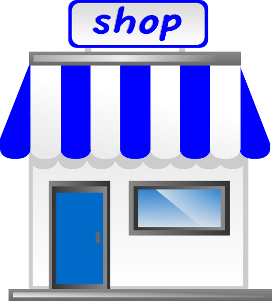 Shop With Awning Clip Art at Clker.com - vector clip art ...