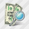 Icon Money Search Image